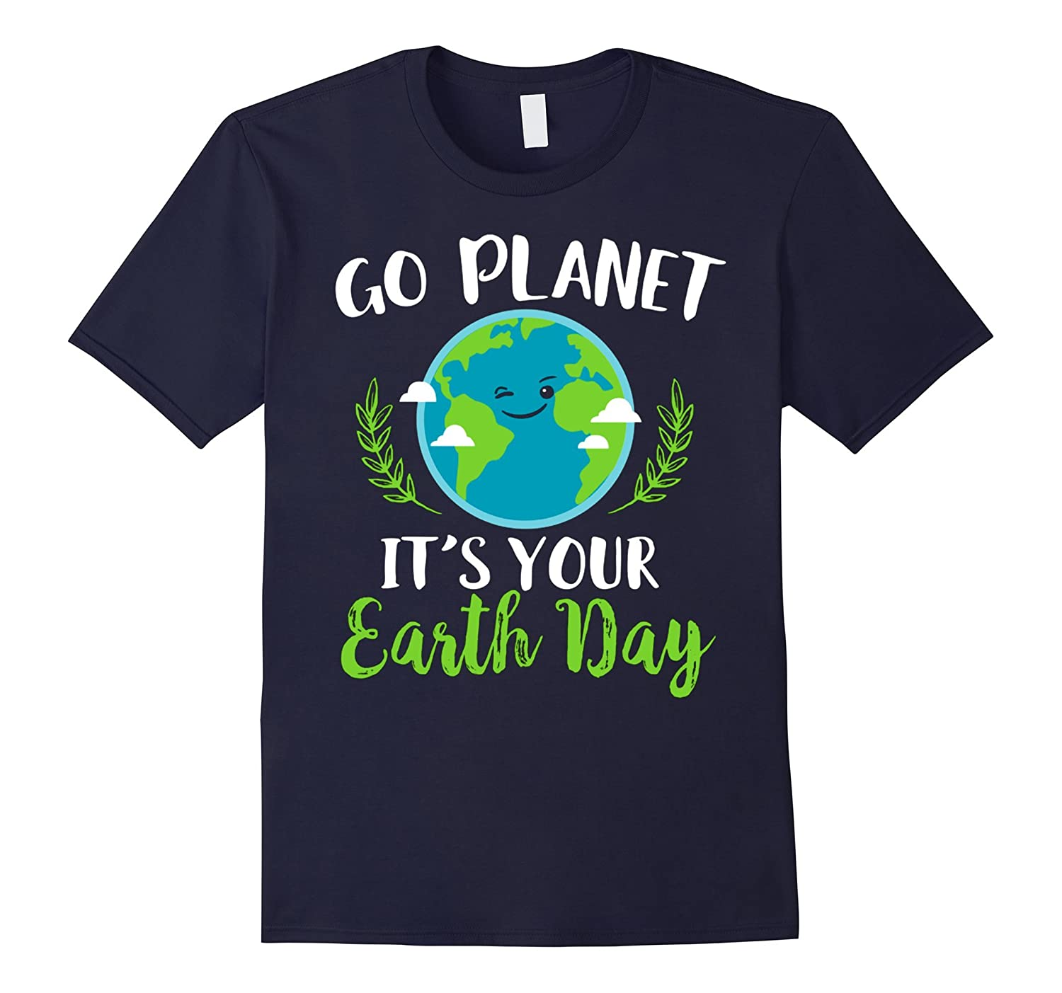 earth day 2017 go planet green water recovery earth t shirt-TH