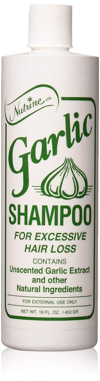 Garlic shampoo for hair growth