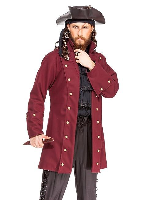 ThePirateDressing Pirata Medieval Renacimiento Buccaneer Abrigo Chaqueta  Disfraz  C1414   Amazon.es  Ropa y accesorios e172a96a1b0a