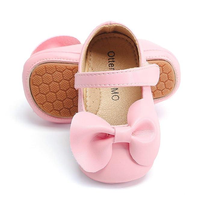 Amazon.com: Otter MOMO Zapatos de vestir para bebé y niña ...