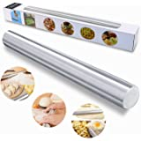 TedGem Stainless Steel Rolling Pin, Metal Rolling Pin for Bakers, Cookie & Pastry Dough