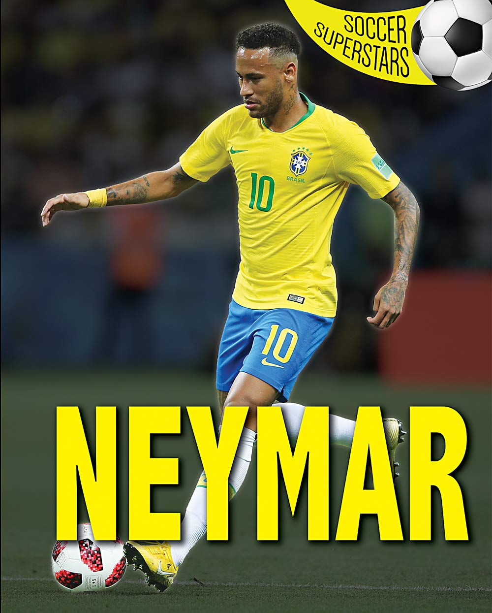 Neymar (Soccer Superstars) by Rosen Young Adult