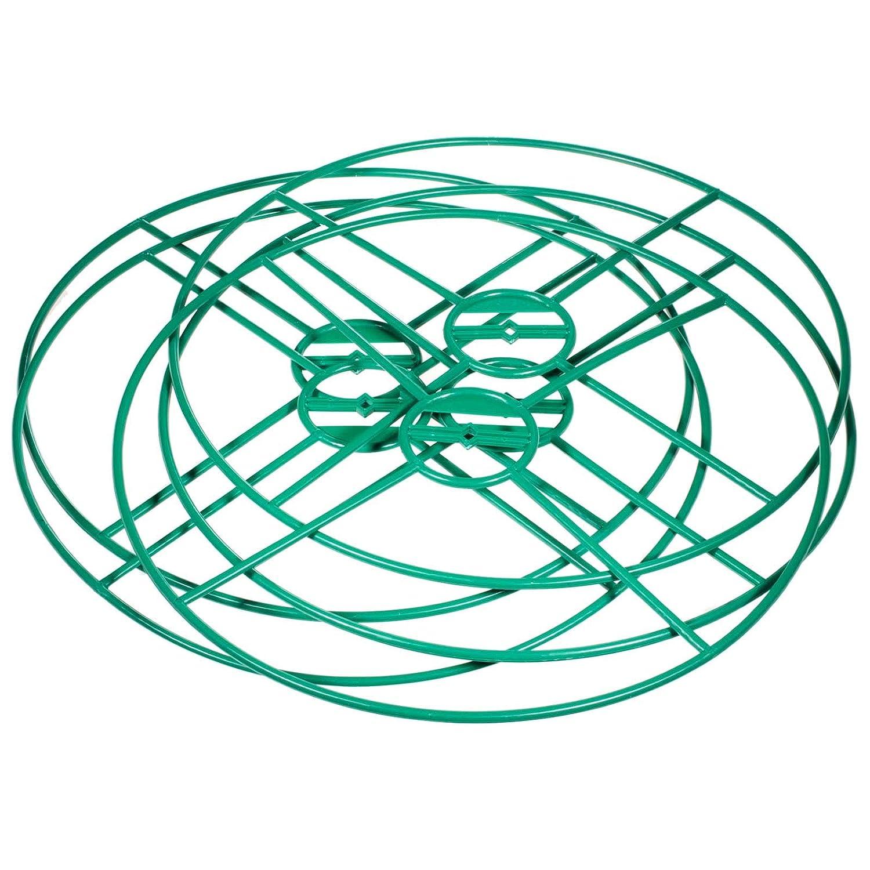 SIDCO Staudenhalter 5 St/ück Rankhilfe Pflanzenst/ütze Staudenst/ütze Blumen Ring /Ø 40 cm