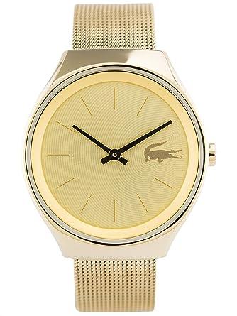 Lacoste - Reloj analógico de pulsera para mujer - 2000952: Amazon.es: Relojes