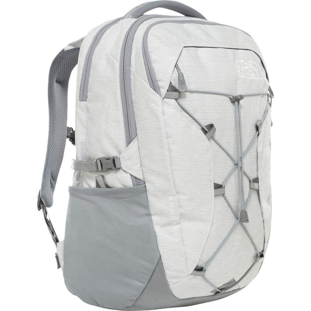 The North Face Women's Borealis Backpack, Tnf White Metallic Melange/Mid Grey by The North Face