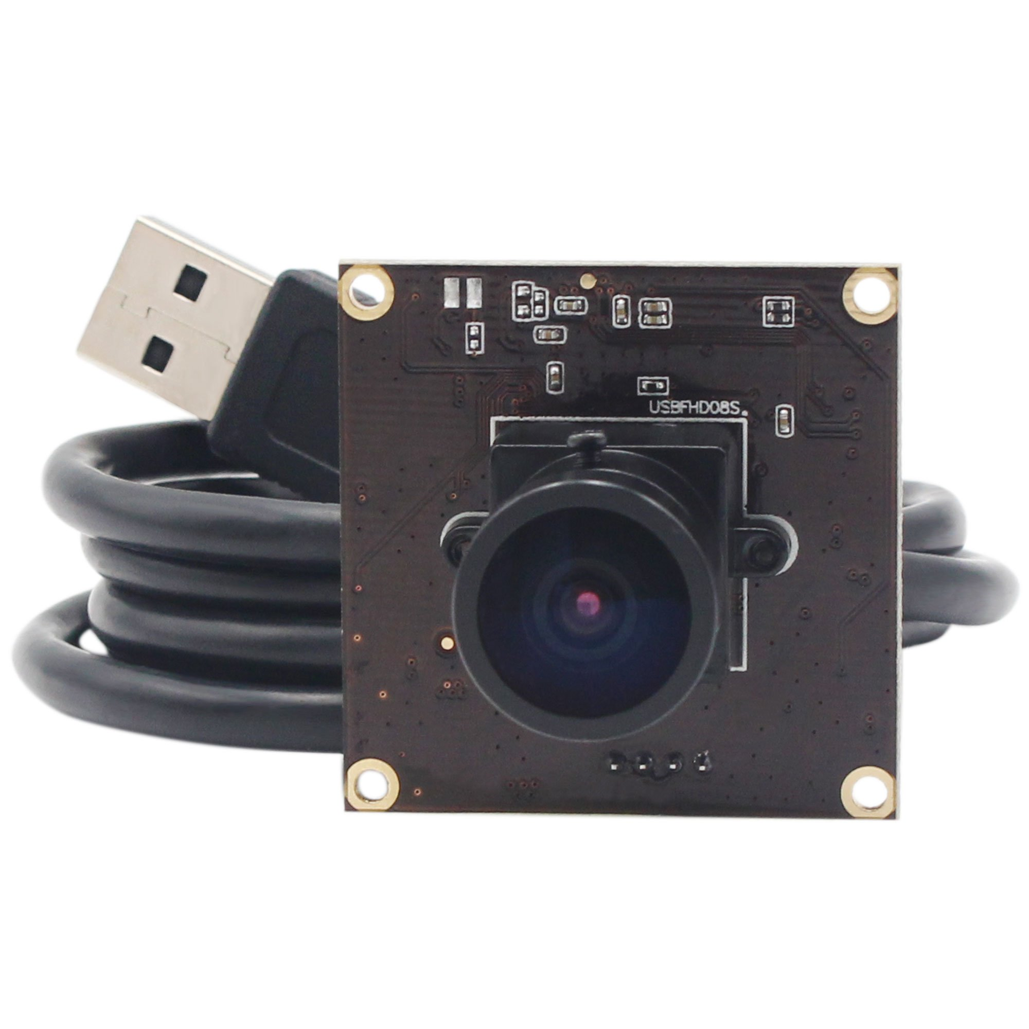 ELP USB With Camera 2.9mm Wide Angle Lens 1080P Free Driver Camera Module,260FPS@480P 120FPS&720P 60FPS@1080P High Frame Webcam,Usb Camera Linux Windows Android Mac Os