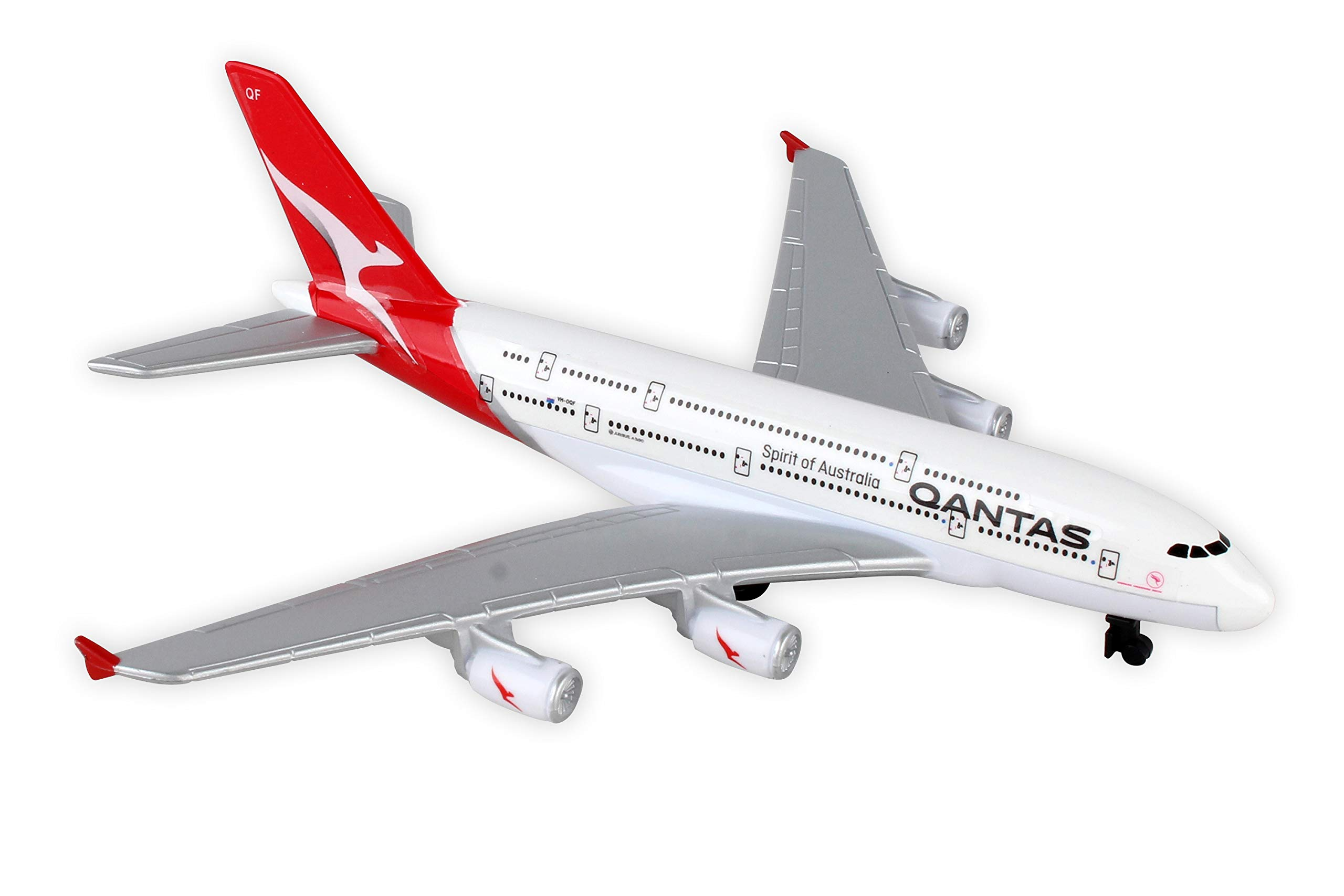 Daron Qantas Single Plane