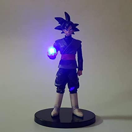 Dragon Ball Black Goku Zamasu Led Light Dragon Ball Action Figures Anime 150mm Super Saiyan Son Goku Led Lighting Lamp Dbz Led Lamps