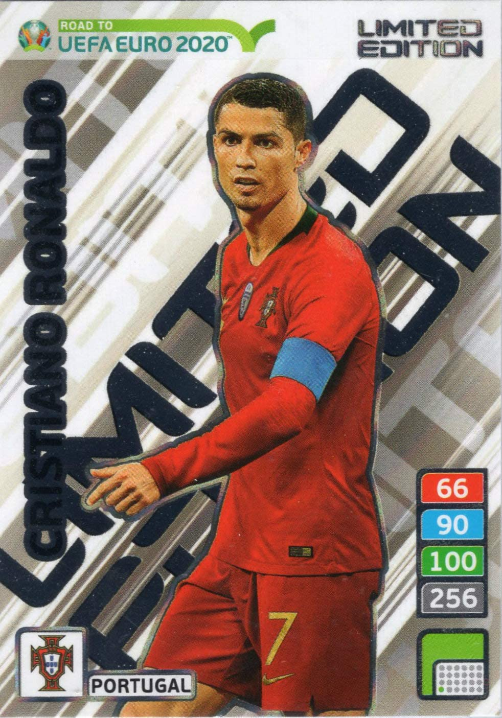 Adrenalyn XL Road to Euro 2020 - Cristiano Ronaldo Limited ...