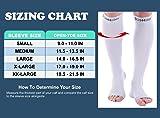 Doc Miller Open Toe Compression Socks 1 Pair