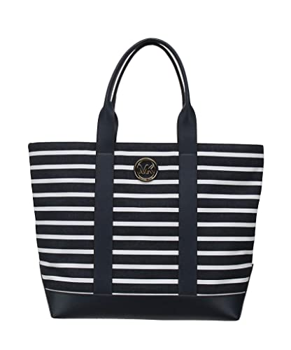 Image Unavailable. Image not available for. Color  Michael Kors Tote Large  Canvas Fulton ... e44be791ba2aa