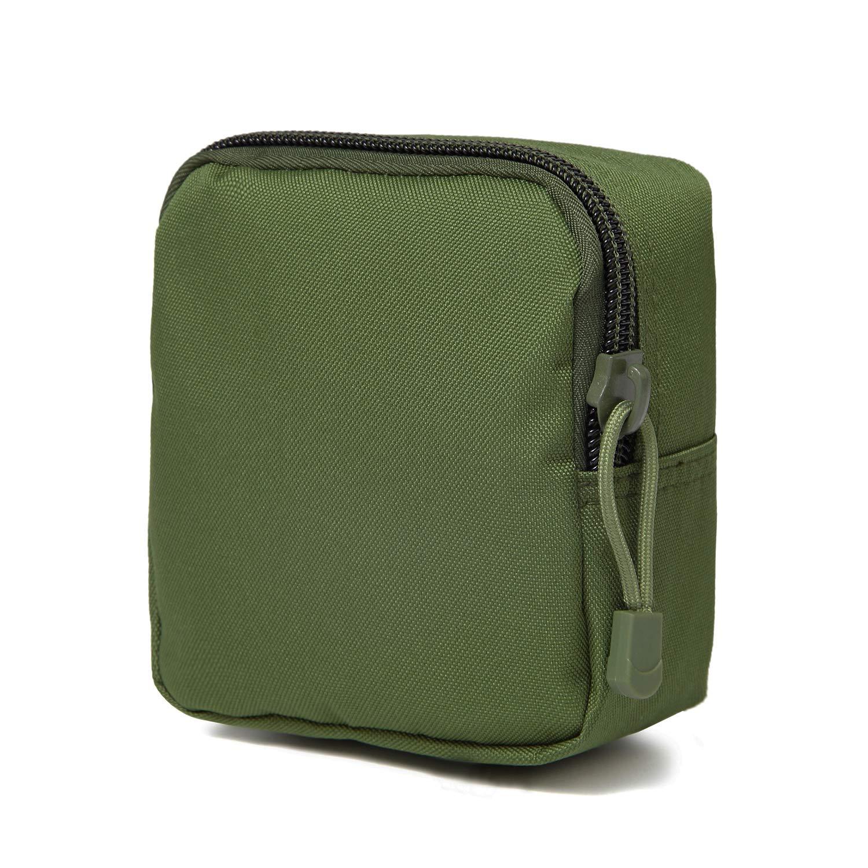 DBTAC Tactical Gun Range Bag, Deluxe Pistol Shooting Range Ammo Handgun Duffle Carrier ... (Pouch (OD Green)) by DBTAC