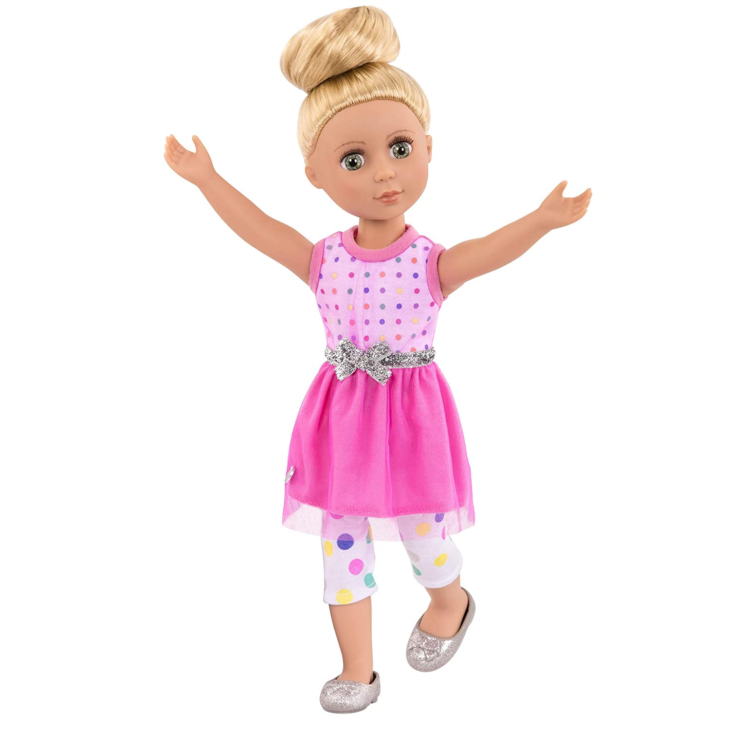 Glitter Girls by Battat - Stay Sparkly Dress and Leggings Regular Outfit -  14 inch Doll Clothes and Accessories for Girls Age 3 and Up – Children's  Toys
