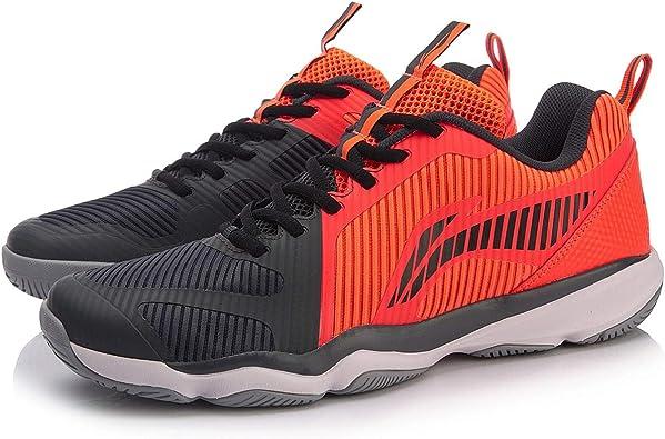 Li Ning AYTN053-4 Ranger TD - Zapatillas de bádminton para hombre, color rojo y negro: Amazon.es: Zapatos y complementos