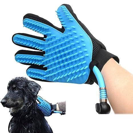 Cabeza de ducha de guante para mascotas, ducha de mano ducha de perro con cepillo, ...
