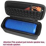 Per JBL Flip 3custodia protettiva, altoparlante wireless Bluetooth portatile di storage box- Travel hard EVA antiurto borsa–Fits cavo USB