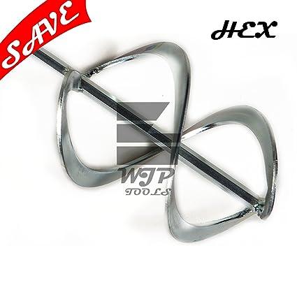 HELIX varillas mezcladoras para batidora 100 mm x 600 mm x 10 mm llaves de vaso