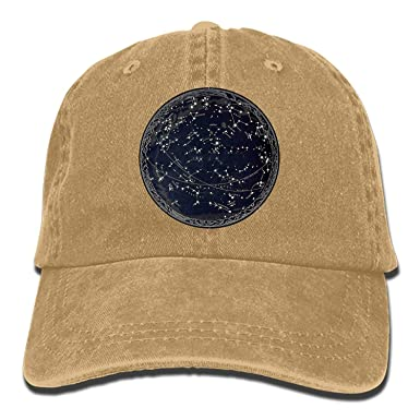 Devil Moon Denim Cap Cowboy Hat Polo Style Baseball Cap for Men ...