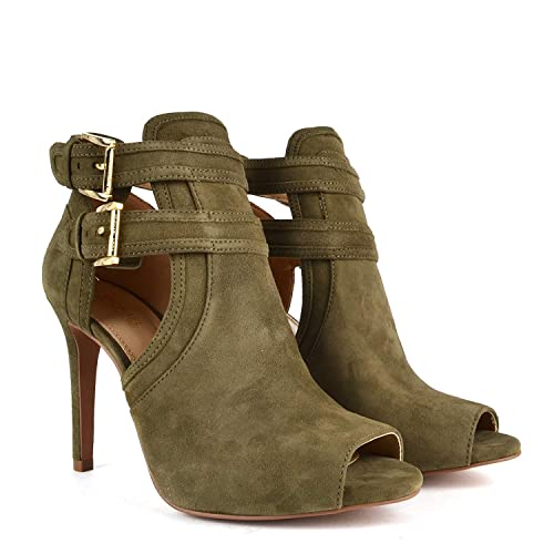 MICHAEL by Michael Kors Blaze Olive Botines Verde Mujer 41 Olive: Amazon.es: Zapatos y complementos