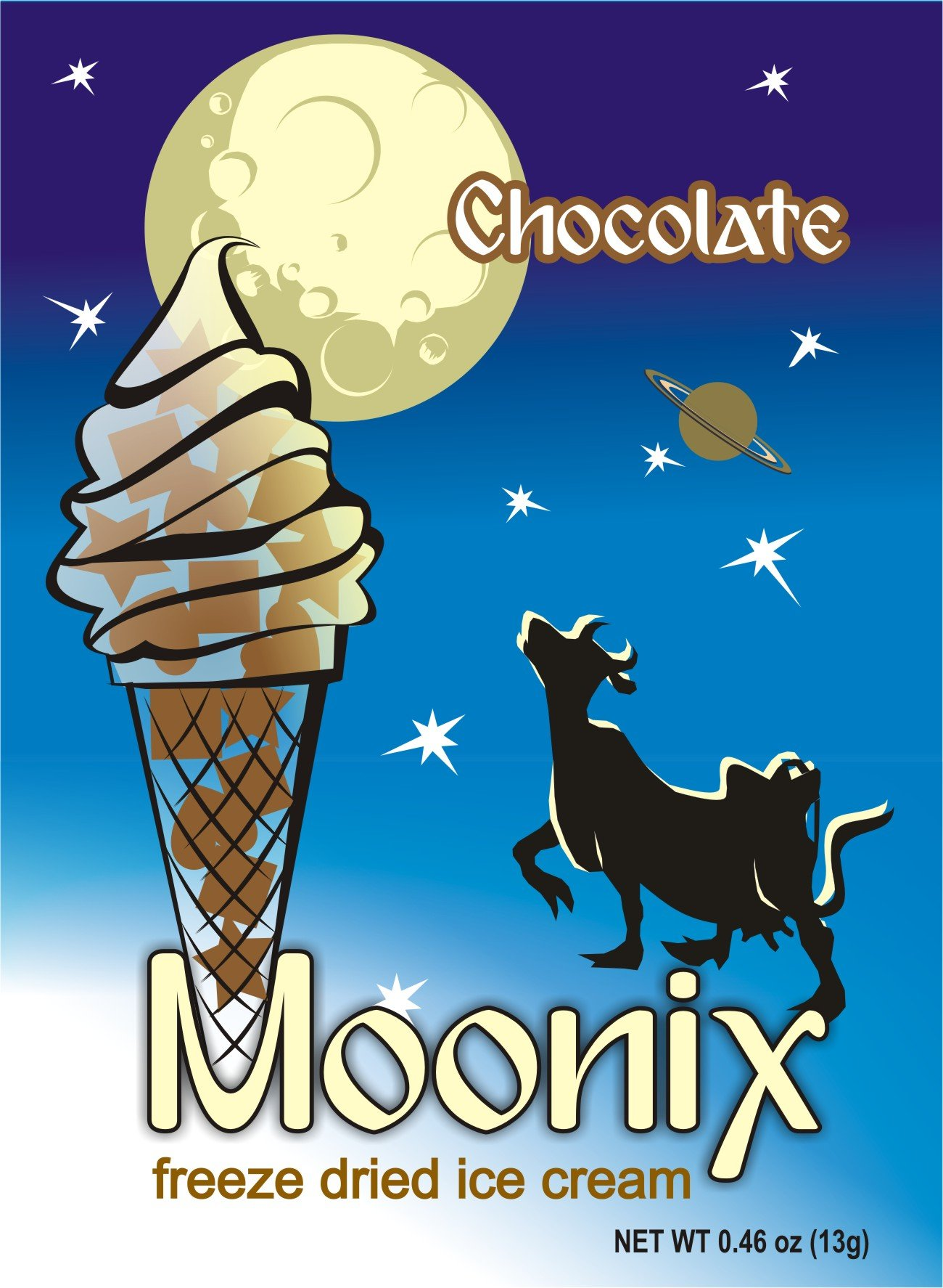 Moonix Freeze Dried Ice Cream (Chocolate)
