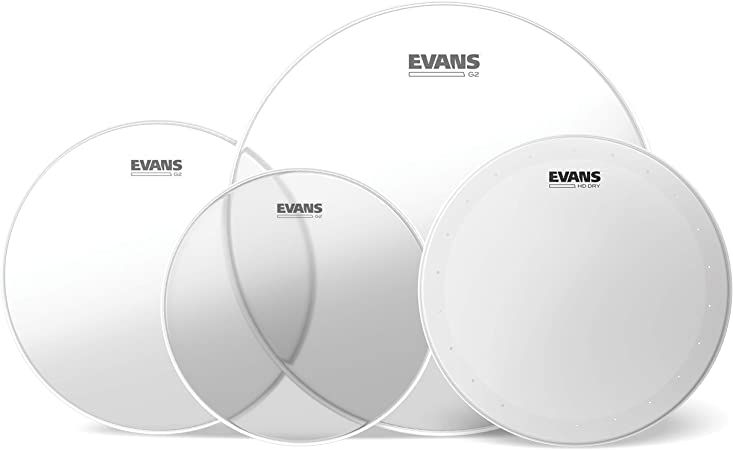 Evans G2. Pack fusión transparente (10