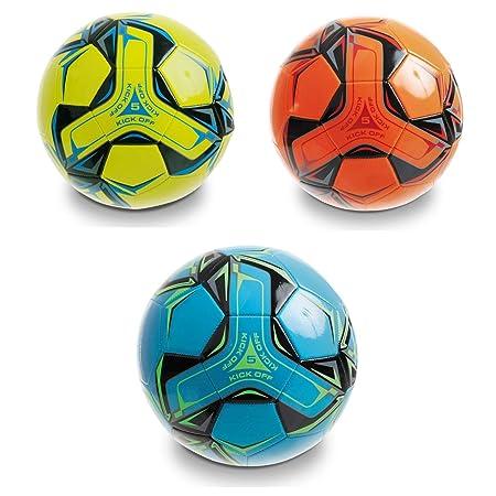 Mondo- Balón fútbol de Cuero Cosido Kick Off (13991): Amazon.es ...