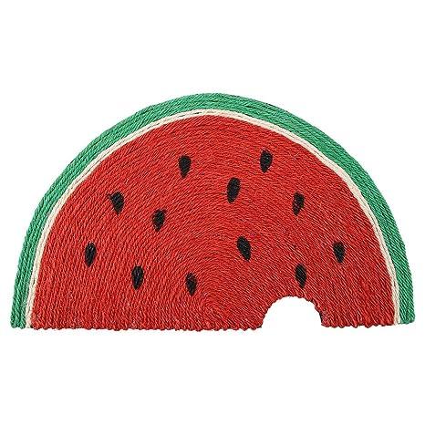 Sugoyi Rascador de Gato, diseño de melón de Cuerda de sisal ...