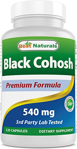 Best Naturals Black Cohosh 540 mg 120 Capsule