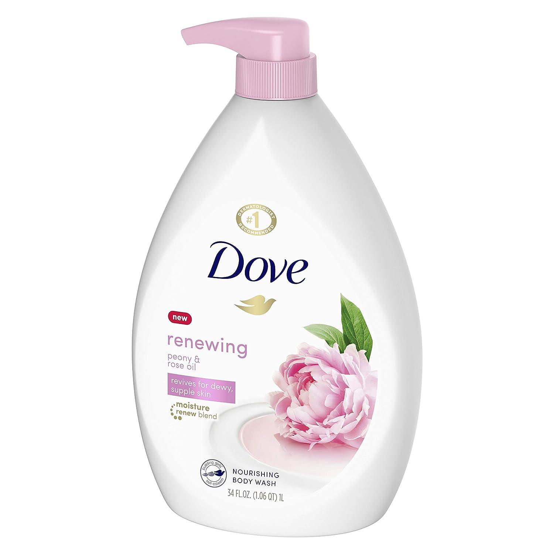 Amazon Com Dove Purely Pampering Body Wash Pump Sweet Cream Peony 34 Oz Wine