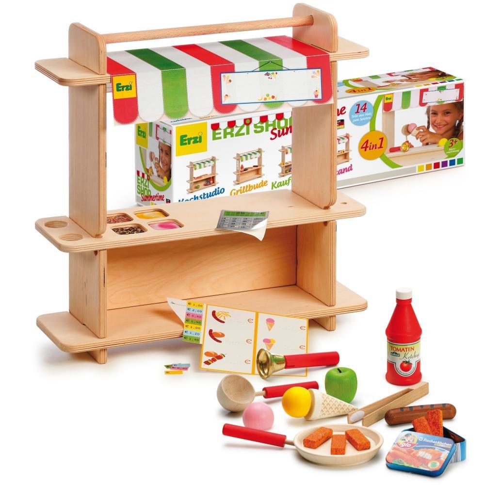 Eisdiele Spielzeug - Erzi Shop Summertime 4-in-1