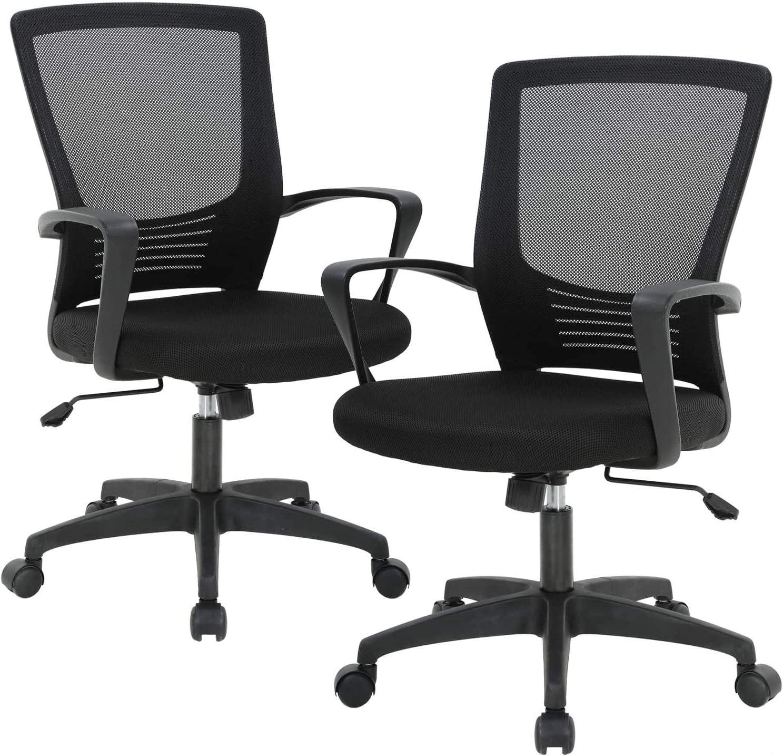Home Ergonomic Desk Office Chair Mesh Computer Chair