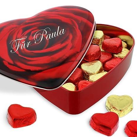 Schön Sweetheart Pralinenherz Mit Ihrer Individuellen Namens Gravur   Das  Genußvolle Geschenk Zum Valentinstag