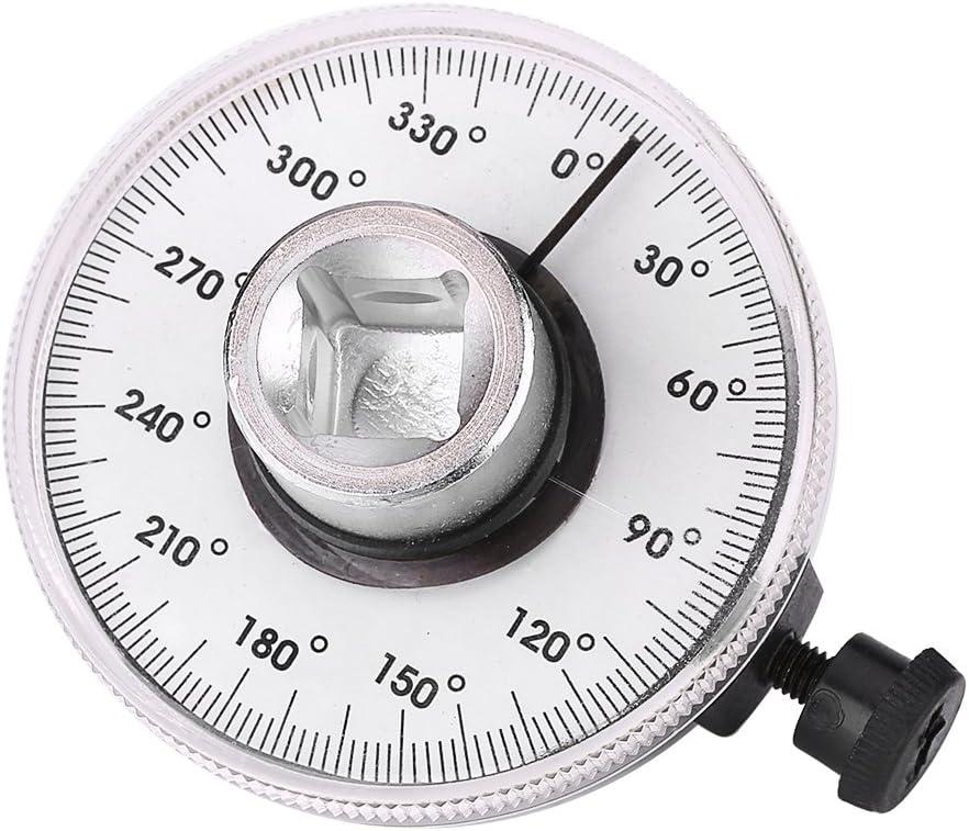 Strumento per misuratore di auto accessorio per auto durevole Wacent & Parte 1//2 pollice angolo di trasmissione regolabile Chiave di torsione Misura set di strumenti per misuratore di auto Angolo di