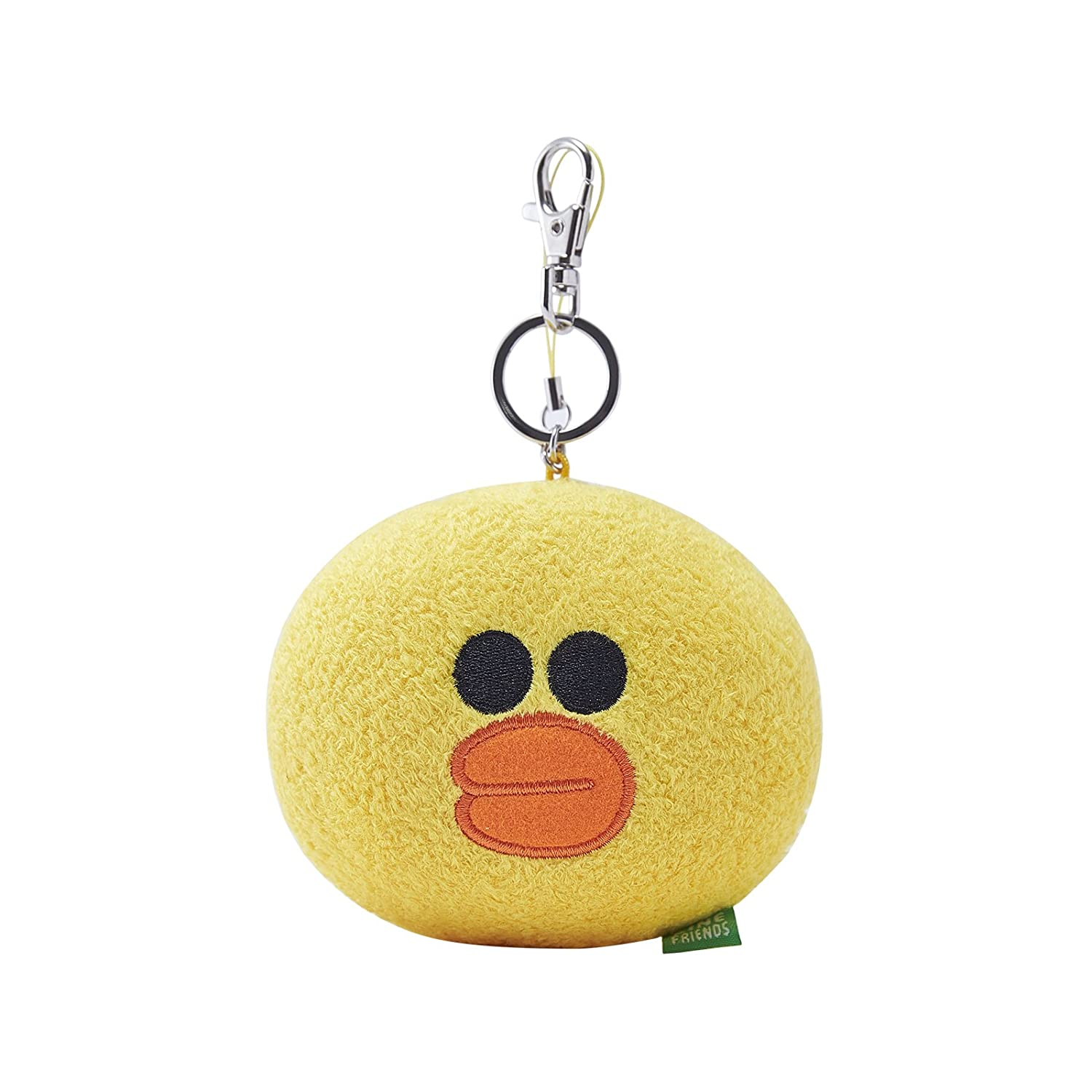 LINE FRIENDS Sally Face Keyring Chain With Plush Doll