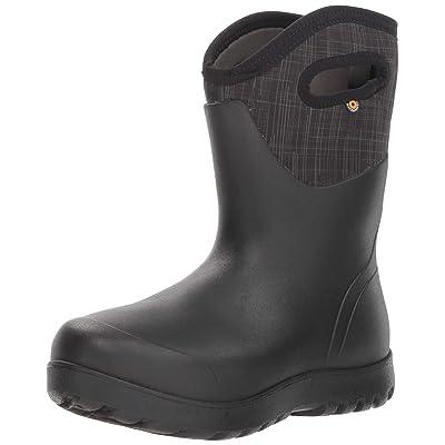 BOGS Women's Neo-Classic Mid Linen Waterproof Rain Boot | Mid-Calf