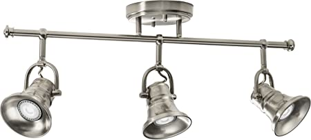 21W Lithonia LTFPMILL MR16GU10 LED 27K 3H ORB M4 LED 3 Head Peppermill Fixed Track Kit Oil-Rubbed Bronze
