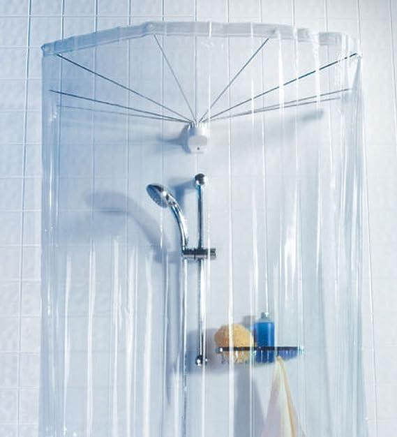 Spirella colección Ombrella, Cabina baño (Cortina y Estructura ...