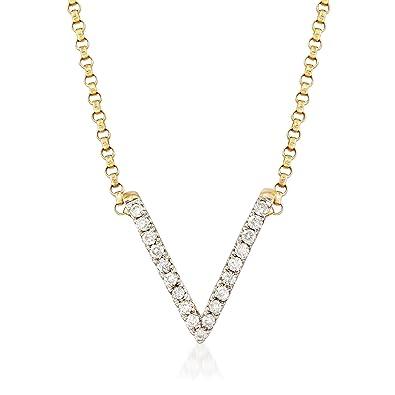 Simons V chain necklace VsoRwl1g