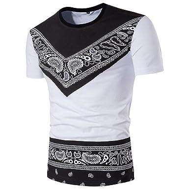 💖 T-Shirt Africain, 💖 Covermason Chemise à Manches Courtes Hommes ... a90243943ed