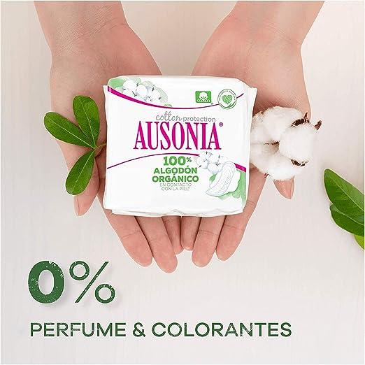 Ausonia Cotton Protection Noche (tamaño 3) Compresas Con Alas, 9: Amazon.es: Salud y cuidado personal