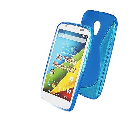 S-Line Carcasa de Gel de silicona para Motorola Moto G2 de ...