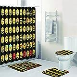 Amazon Com Emoji 13 Piece Bath Set Home Kitchen