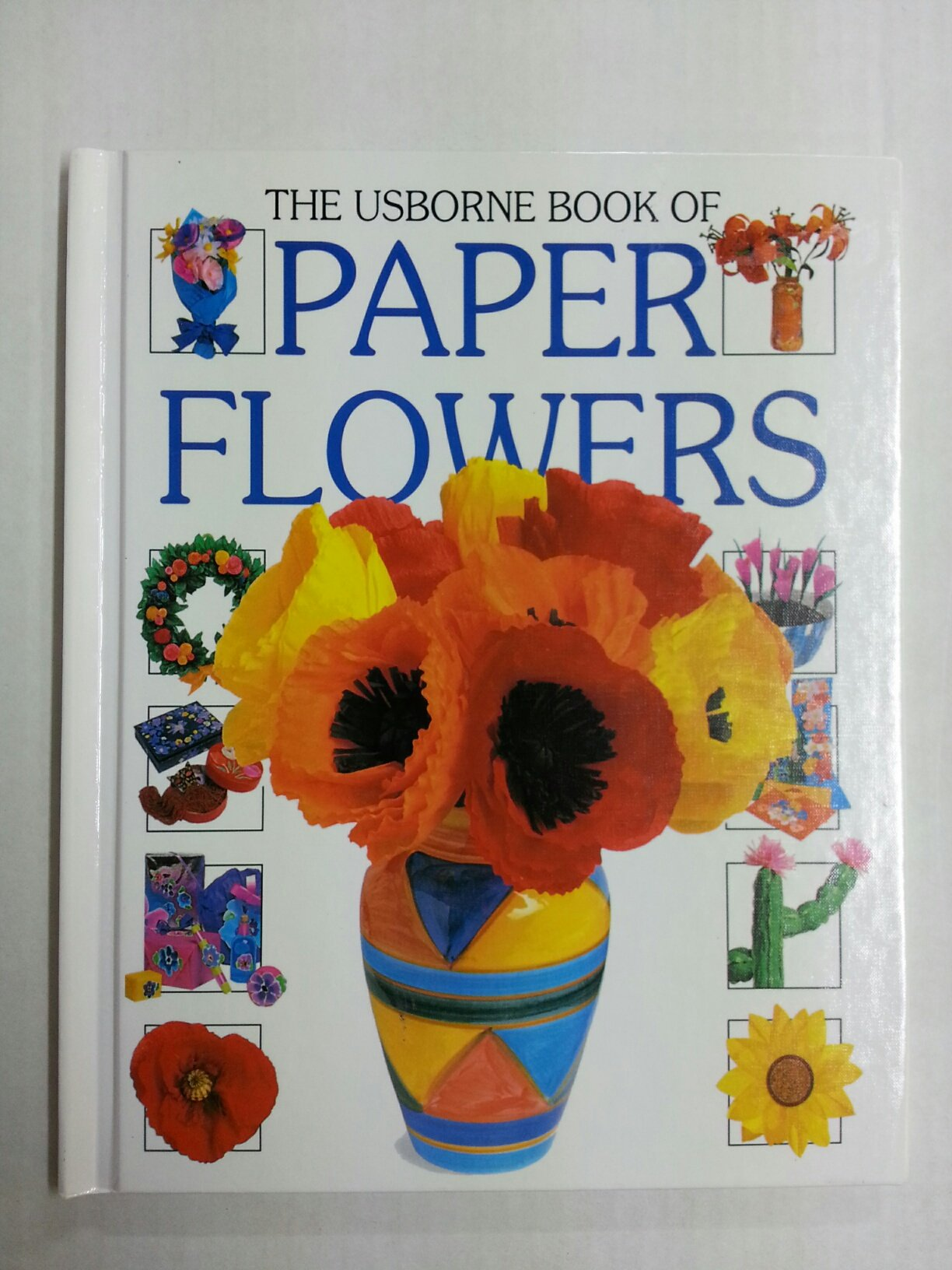 The Usborne Book Of Paper Flowers How To Make Ray Gibson