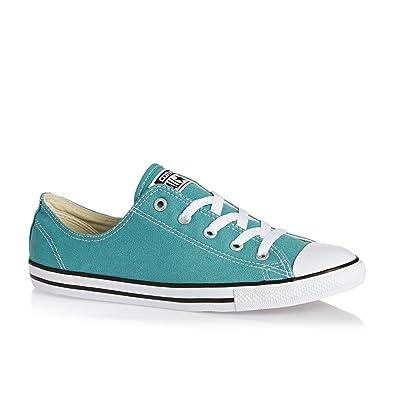 0276e72dd460 Converse Shoes - Converse All Star Dainty Shoes - Aegean Aqua Black White