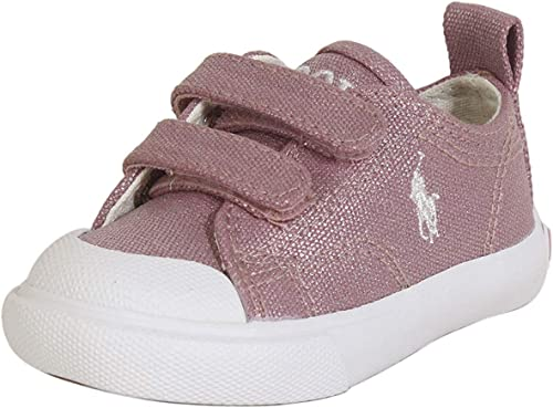 best shoes 100% top quality outlet for sale Polo Ralph Lauren Kids Baby Girl's Kingsley EZ (Toddler)