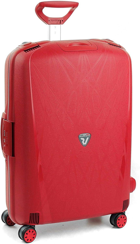 Roncato Maleta Grande L Rigida Light - cm. 75 x 53 x 30 Capacidad 109 L, Organización Interna, Cierre TSA, Garantìa 10 años