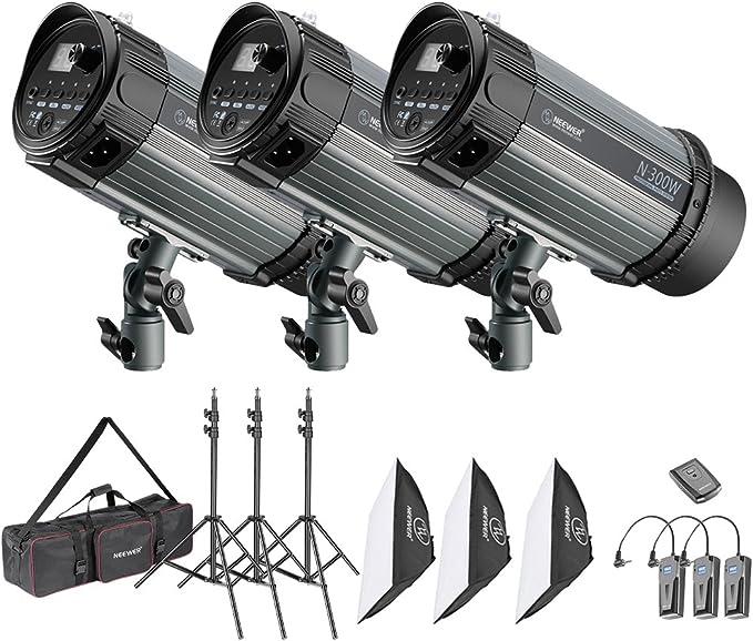 awstroe Softbox de luz LED para Fotograf/ía Fotograf/ía Plegable de Iluminaci/ón Luz de Video LED Cuadrada Difusor Softbox Kit Accesorio