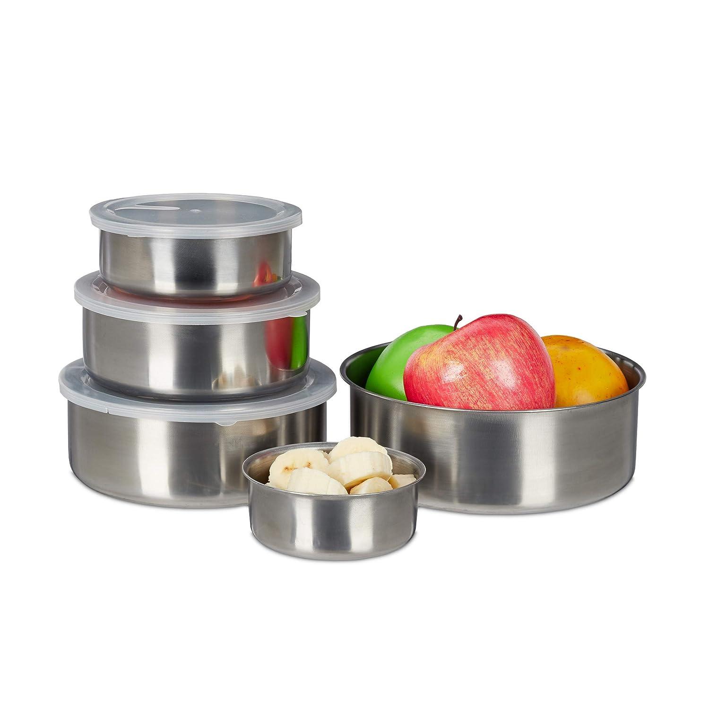 Lunch Box Edelstahl Lebensmittel Obst Salat Container Lebensmittelbehälter