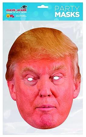 Rubies - Donald Trump, máscara de disfraz, talla única (DTRUM01)