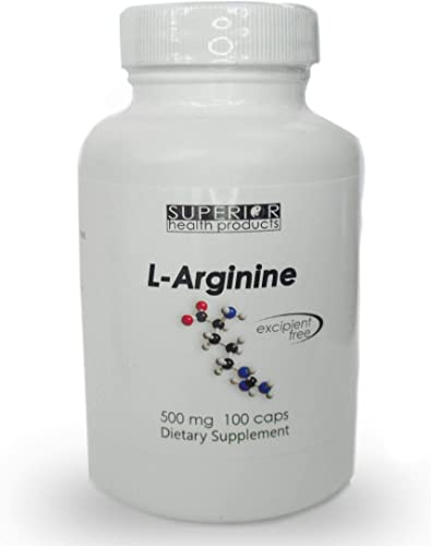 Superior Health Products – Arginine – 500mg 100caps